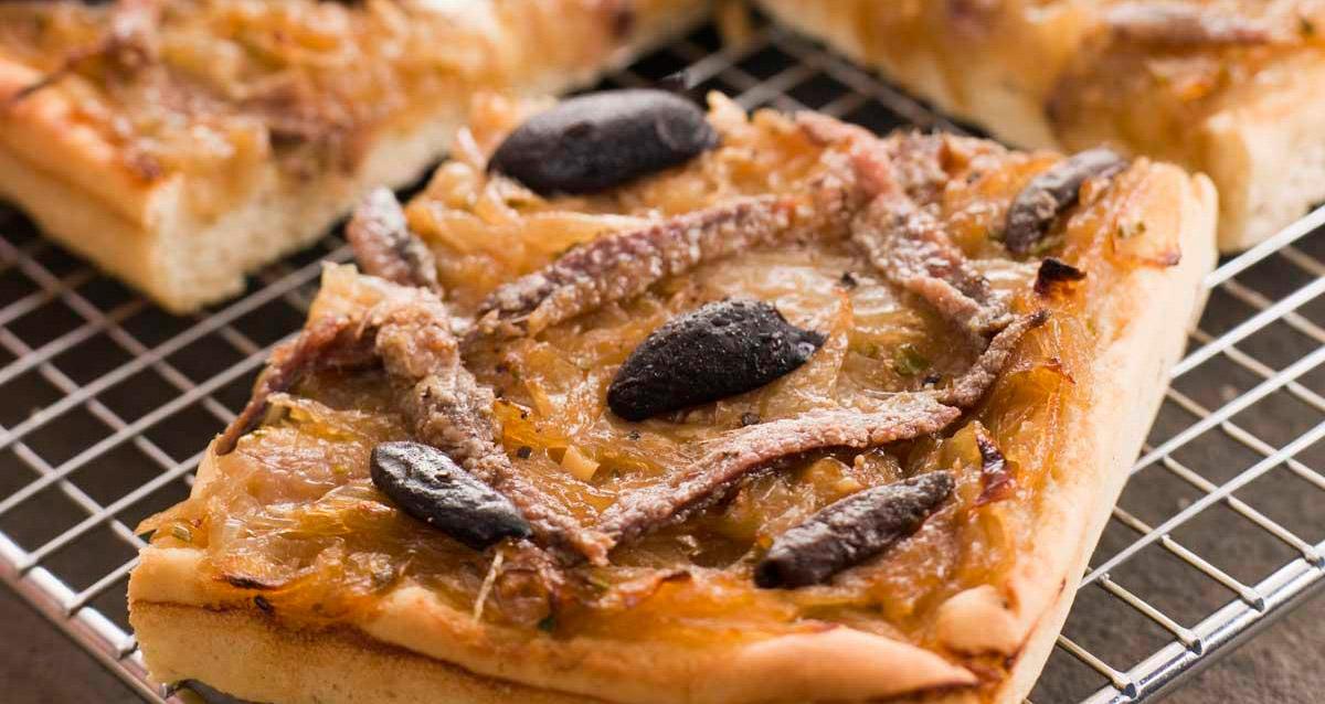 recette pissaladière provence aïoli
